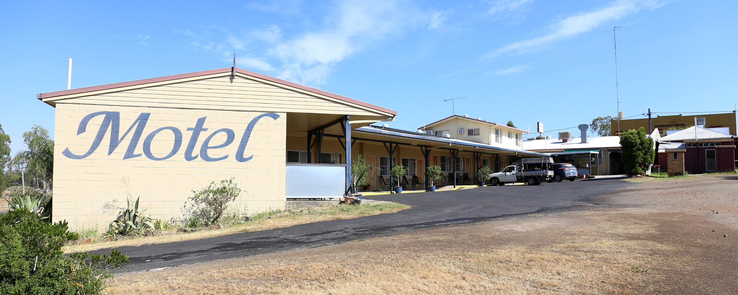 texas motel accommodation